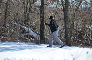 Cross-Country Skiing - a Big Favorite at Kensington