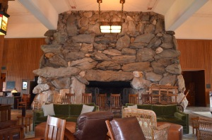 One of the MASSIVE Fireplaces in the Lobby Grove Park Inn