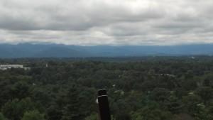 View from Sunset Terrace Grove Park Inn