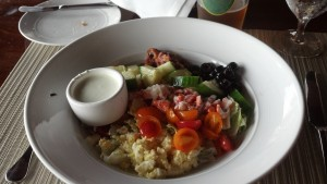"""Famous"" Lobster Cobb Salad Grove Park Inn"