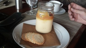 Butterscotch Pudding with Caramel Grove Park Inn