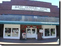 Mast General Store Main Street Waynesville, NC
