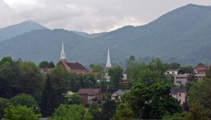 Beautiful Waynesville, NC (Eagles' Nest Mountain in the Background)