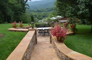 Walk Down to Fire-Pit Andon Reid Bed & Breakfast Inn