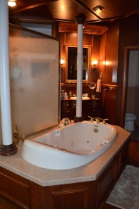 Magnificent Jetted Tub/Shower/Dressing Area Andon Reid Bed & Breakfast Inn