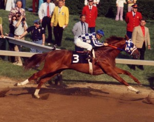 Secretariat's Amazing Leap at the Preakness 1973