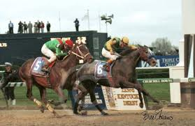 Silver Charm Winning 1997 Kentucky Derby