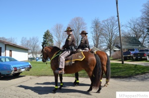 Local Mounted Police Unit