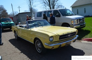 Early Ford Mustang Convertible