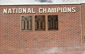Championship Wall