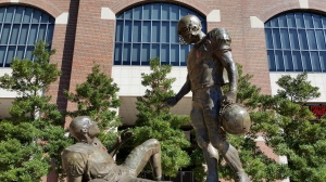 Sportsmanship Statue - Close-up