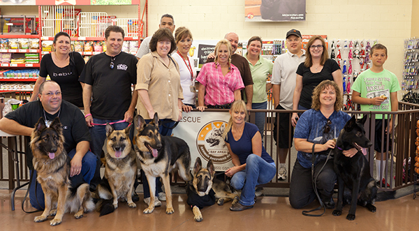 Members of Bay Area German Shepherd Rescue (from their website)